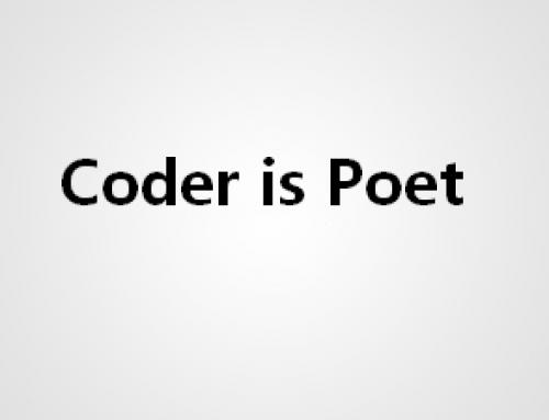 程序员都是诗人